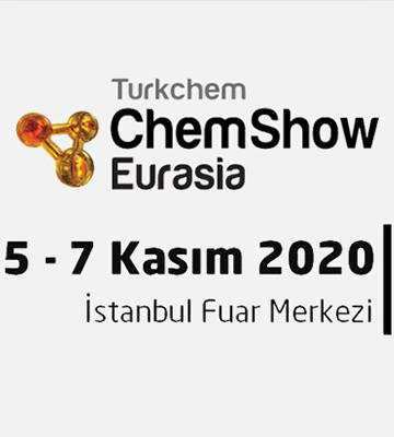 Our company shows its place in 2020 TURKCHEM CHEMSHOW EURASIA fair.